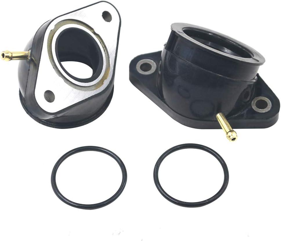 AHL Compatibile per Adattatore interfaccia carburatore adatto a Yamaha XV400 Virago 1991-1994 //XV500 1992-1998 //XV535 Virago 1988-2001