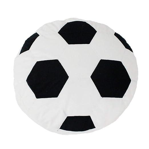 NIANMEI Almohada de balón de fútbol Peluche Relleno de Felpa ...