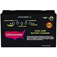 USAutomatic 520007 12VDC 2 Amp Battery Charger Controller by US Automatic