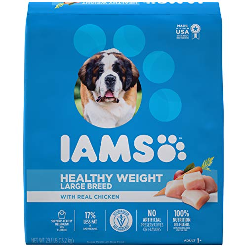 Iams Proactive Health Adult Dry Dog Food for Healthy Weight, Chicken