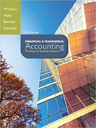 Amazon financial managerial accounting ebook jan williams financial managerial accounting 17th edition kindle edition fandeluxe Choice Image