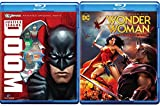 Justice League Animated 2 Pack Doom & Wonder Woman Commemorative Edition blu-ray + DVD Original DC Super Heroes Power Pack Set