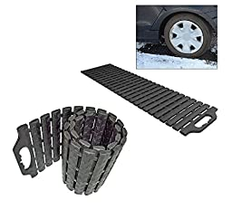 Get Ready for Winter Ice Snow - Set/2 Car Truck Multi-link Tire Traction Mat