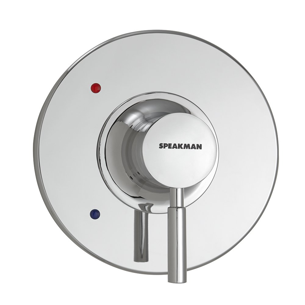 Speakman CPT-1000-UNI Neo Universal Shower Valve Trim Kit - Easy Shower Handle Replacement - Shower Kit Retrofits Many Modern Shower Valves, Polished Chrome by Speakman
