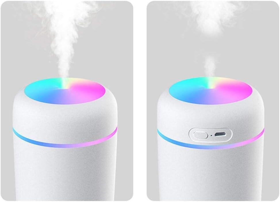kemanner Diffusore del purificatore dAria della foschia Muto della Luce Notturna umidificatore di aromaterapia della Colonna Vaporizzatori da Viaggio