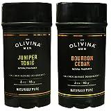 Best Mens Deodorants - Olivina Men Bourbon Cedar and Juniper Tonic Deodorant Review