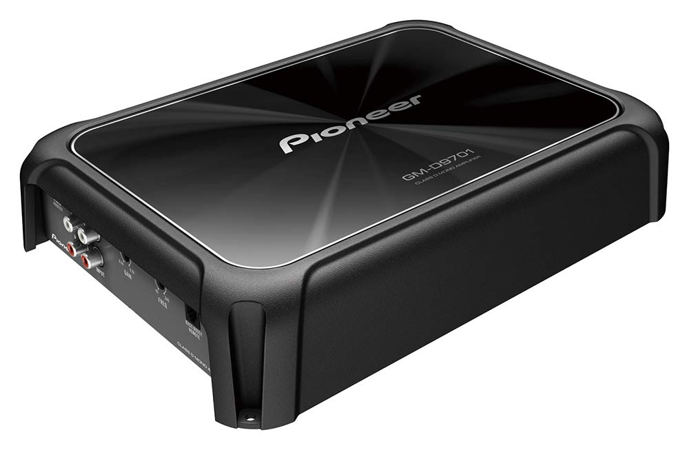 Pioneer GM-D9701 Mono 2400W Class-D Car Amp with Bass Boost Remote