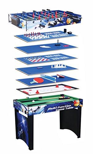 Solex Multifunktionsspieltisch 12-in-1 Spieltisch ALDI, Bunt, 91412AD