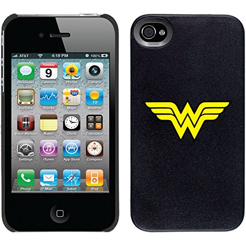 Coveroo Thinshield Snap-On Cell Phone Case for iPhone 4/4s - Wonder Woman Emblem