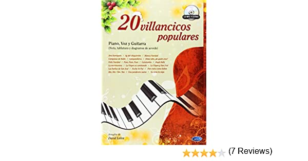 20 Villancicos Populares: Amazon.es: Leiva Prados, David, Piano ...