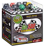 Go500, Nascar Dice Game - Car Racing Dice Game - Super Fun Nascar Game – Ultra-Portable, Easy, and Fun Dice Game. Perfect For Travel, Home, Parties, Gifts, Stocking Stuffers, Get-Togethers
