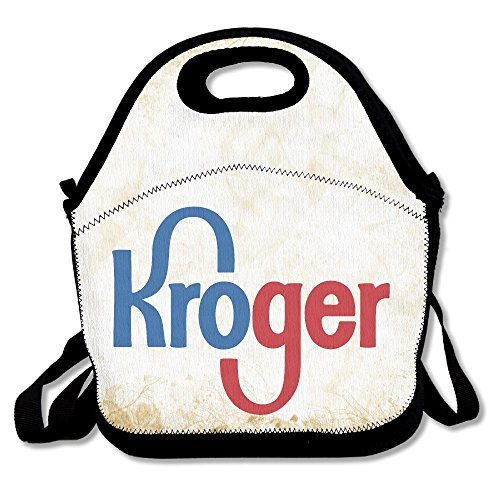 Kroger Insulated Lunch Bag  Backpack   Tote With Zipper  Carry Handle And Shoulder Strap For Adults Or Kids
