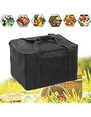 LZDseller01 Bolsa Aislante para Pizza, Impermeable, portátil, Aislante, Bolsa de Entrega de Alimentos, Bolsa térmica para Picnic, para Comida Caliente, Reutilizable, Mochila