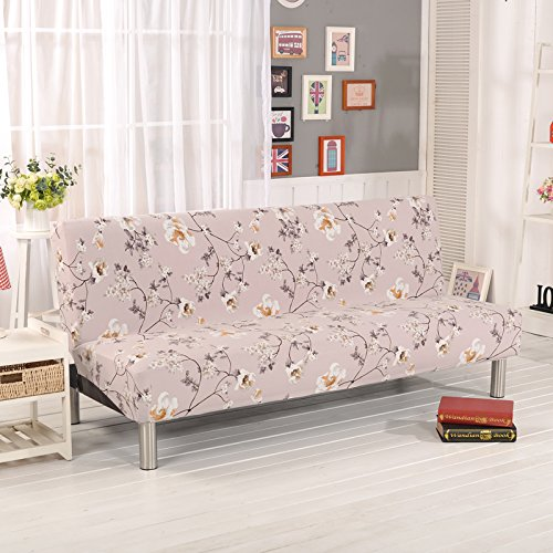 RUGAI-UE Sofa Slipcover sofa cover all fitted armless sofa bed cover type antiskid four pure living room,160-195cm sofa bed use,Descendants royal families