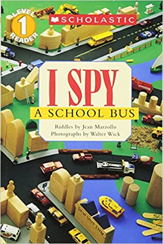 I Spy: 4 Picture Riddle Books (School Reader Collection Lvl 1: (Scholastic Reader Collection)