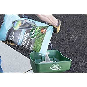 Scotts Turf Builder Starter Food for New Grass Plus Weed Preventer - 2-in-1 Formula - Fertilizes New Grass and Prevents Weeds like Crabgrass and Dandelions - Covers 5,000 sq. ft.