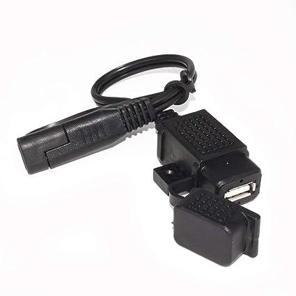beler - Cable Adaptador de Cargador para Motocicleta SAE a ...