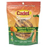 Cadet Sweet Potato Dog Treat Steak Fries; 1 lb.