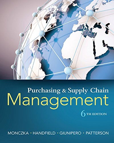 Pdf Science Purchasing and Supply Chain Management
