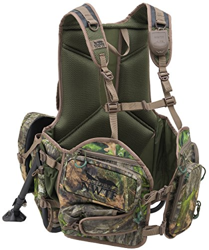 Turkey hunting vest kickstand