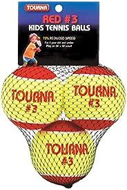 Bola de tênis Tourna de baixa compressão estágio 3