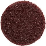 "Merit Type III Abrasotex PowerLock Nonwoven Abrasive Buffing Disc, Nylon Backing, Waterproof, 2"" Diameter, Grit Medium  (Case of 10)"