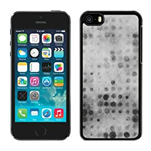 Fashionable And Durable Designed Case For iPhone 5C With Party White Ntage Bokeh Color PatternWallpaper Phone Case