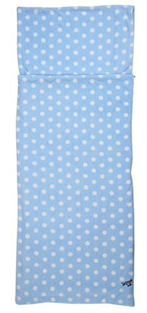 Snuggle Sac Fleecy - Saco de Dormir, Color Blue/White Spots, tamaño Matrimonio Doble, de Polar: Amazon.es: Hogar