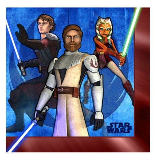 - Star Wars: The Clone Wars Lunch Napkins