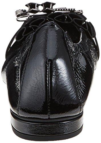 black schwarz Schwarz Kennel Ballerine Donna Schuhmanufaktur Und Malu Schmenger zq47O8