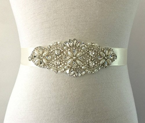 [Trlyc Wedding Dress Belt For Pronovias Or Essence Of Australia Dresses] (Fast Delivery Dresses Australia)