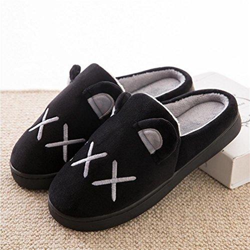 Accogliente Pantofole Foam 44 Interni Memory Warm Zhang2 003 Resistente Eu Di eu42 Antiscivolo Peluche Cotone Pantofole Invernale Casa E8xqSYw