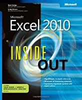 Microsoft Excel 2010 Inside Out Front Cover
