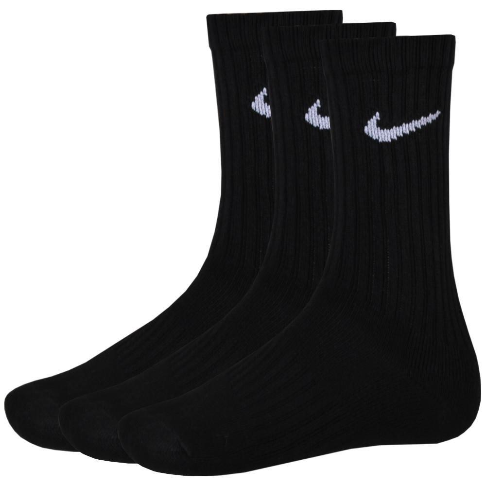 9 Paar NIKE Sportsocken Socken Größe M (38-42) schwarz Vorteilspack