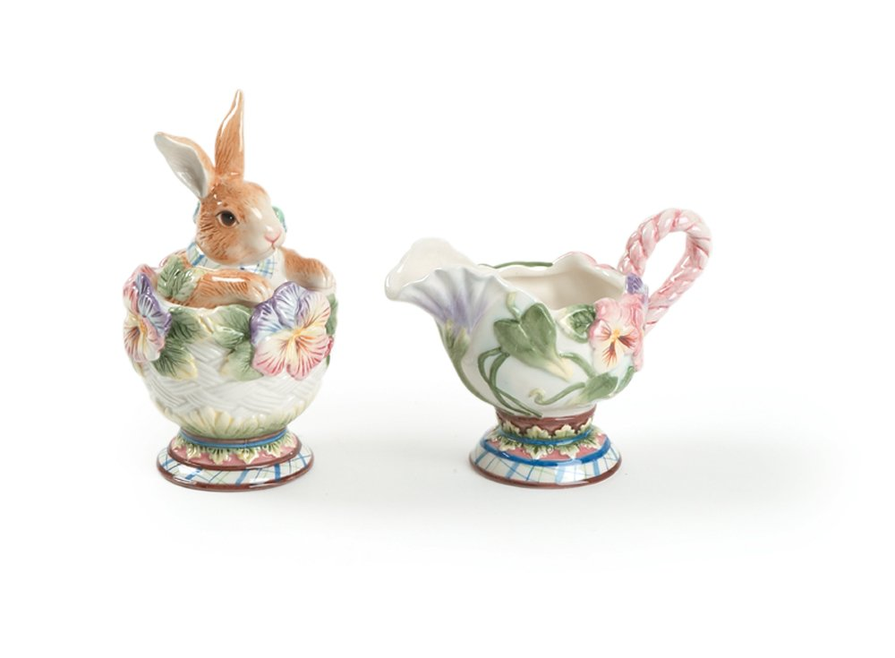 Halcyon Collection, Sugar and Creamer Set Fitz and Floyd 63-404