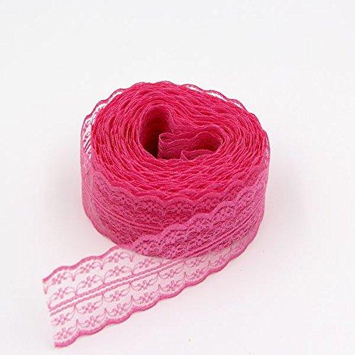 ivory alencon lace mini dress - 7