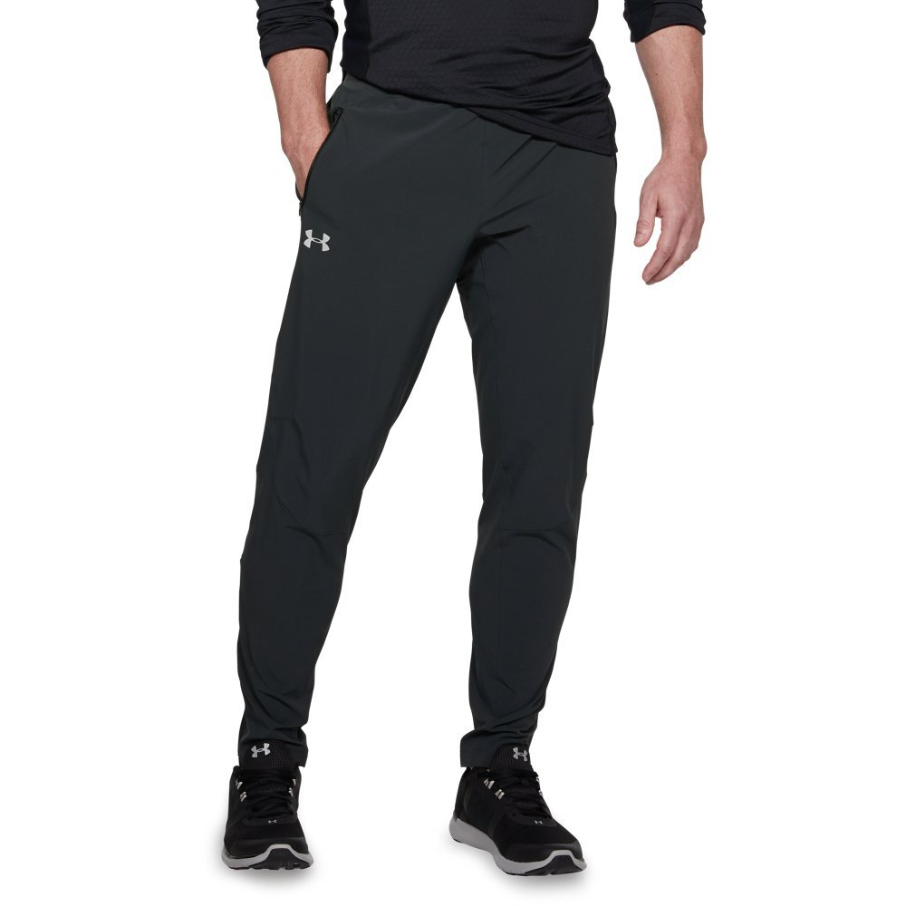 Under Armour Outrun The Storm SP Pant - Men's Anthracite/Black/Reflective, S