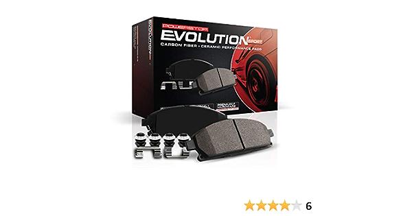 Power Stop Front Z23 Evolution Sport Brake Pads Z23-1586