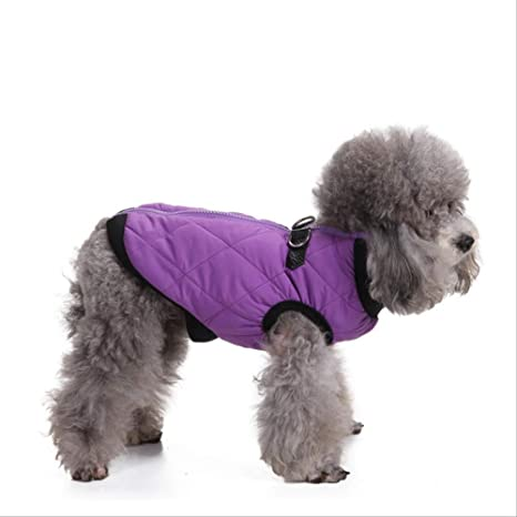 XYBB Ropa para Perros Invierno Cálido Perro Mascota Ropa Suave ...