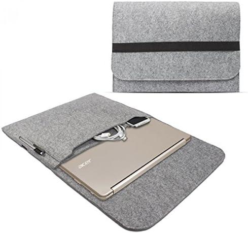 eFabrik – Funda para Acer Chromebook R13 Funda 13,3 Ultrabook Notebook Case Soft Cover Funda Sleeve Fieltro Gris Claro: Amazon.es: Electrónica