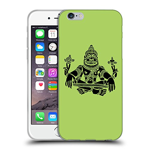 GoGoMobile Coque de Protection TPU Silicone Case pour // Q08120628 Hindou 3 poule // Apple iPhone 7