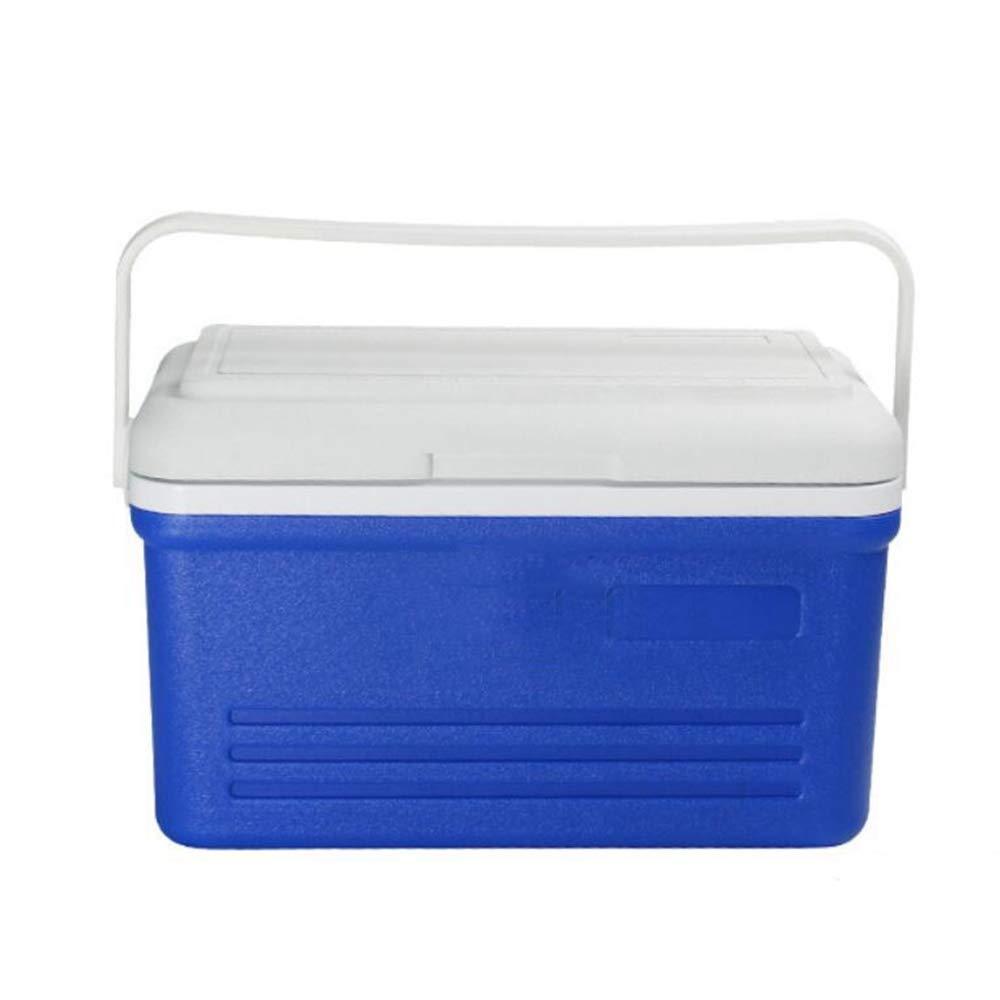 Ambiguity Kühlboxen,16L PU Schäumen tragbare Isolation Box Haushalt Fahrzeug Dual-Use-Kühlschrank