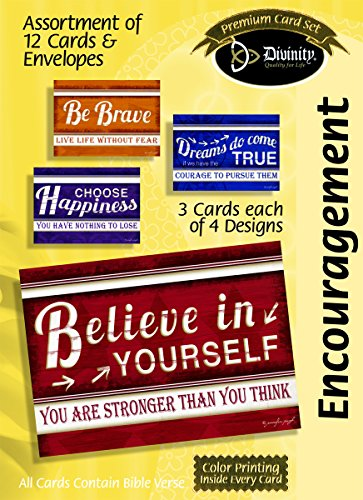 Boxed Cards Encouragement Word Plaques