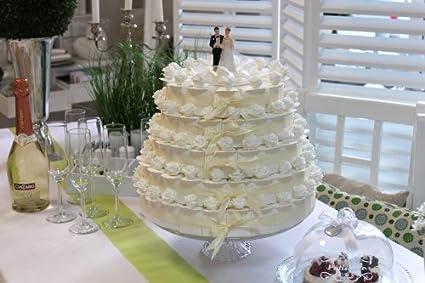 100 Regalos de botellas de crema diseño de boda Novios decorativo almendras