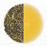 Organic Green Tea Leaves from Himalayas(50 Cups),100% Natural Detox Loose Leaf Tea, Weight Loss,Slimming Tea, Powerful Natural Anti-Oxidants,Sourced from High Elevation Plantations, 3.53oz