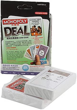 H & F @ Juego de cartas Monopoly Deal: Amazon.es: Deportes y aire libre