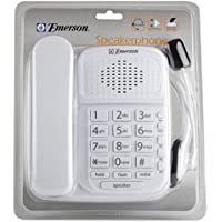 EMERSON Speakerphone with headset WHITE