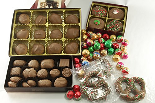 Gourmet Assorted Chocolates Gift Package | 5 Packages, 29 Oz. | Perfect Holiday Gift Idea