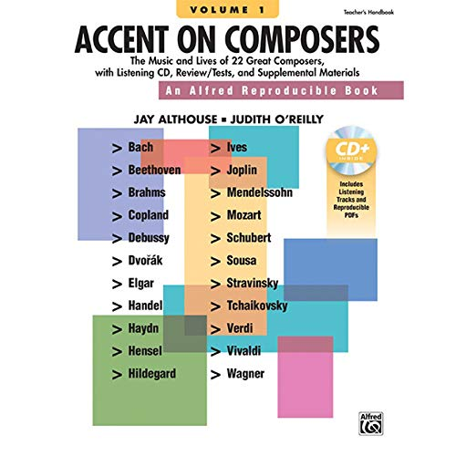 Accent on Composers, Volume 1  by Alfred Music