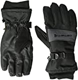 Carhartt Men's W.p. Waterproof Insulated Work Glove, Black/Grey, Large